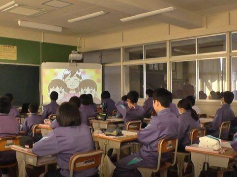 長崎県 南島原市の中学校の授業で「Revolution」を使っていただきました!