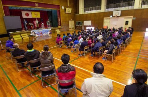 若狭町 野木小学校にてトークライブをさせていただきました♪